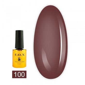 Гель-лак Fox gold Pigment 12 мл (100)