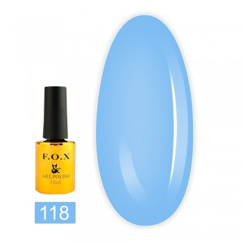 Гель-лак Fox gold Pigment 12 мл (118)