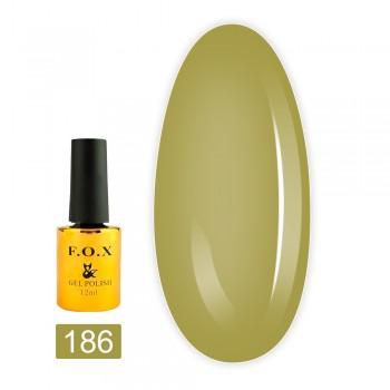 Гель-лак Fox gold Pigment 12 мл (186)