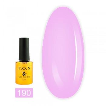 Гель-лак Fox gold Pigment 12 мл (190)