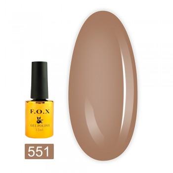 Гель-лак Fox gold Pigment 12 мл (551)