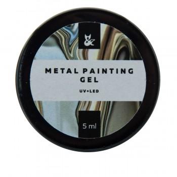 Гель FOX Metal painting 5 мл (001)