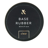 База для гель-лака FOX Base Rubber Clear (банка) 30 мл