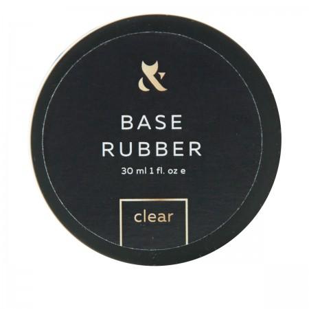 База для гель-лака FOX Base Rubber (банка) 30 мл