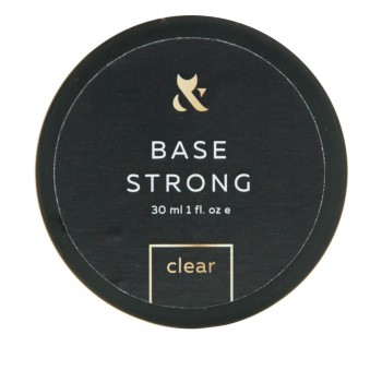 База для гель-лака FOX Base Strong Clear (банка) 30 мл