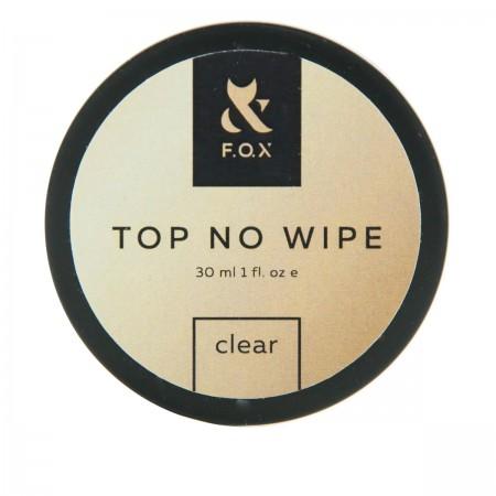 Топ для гель-лака FOX Top No Wipe Clear (банка) 30 мл