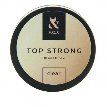 Топ для гель-лака FOX Top Strong Clear (банка) 30 мл