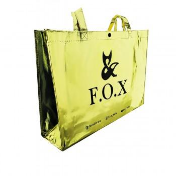Сумка золотая Fox