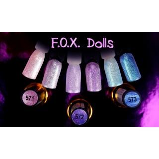Гель-лак Fox Dolls 6 мл (571)