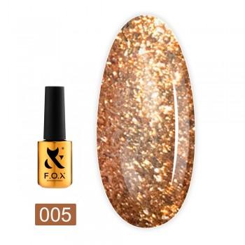 Гель-лак Fox gold Brilliance 7 мл (005)