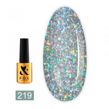 Гель-лак Fox gold Pigment 7 мл (219)