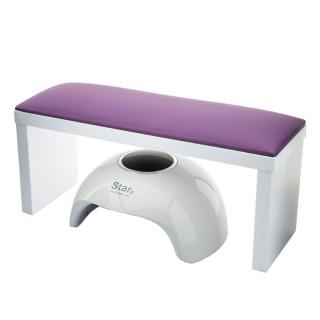 Подлокотник FRC для маникюра на ножках (Violet)