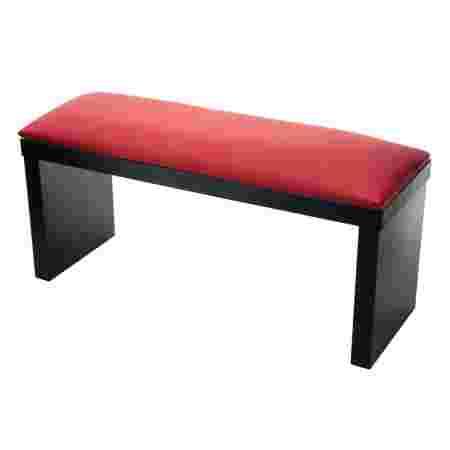 Подлокотник French для маникюра на черных ножках  (Red)