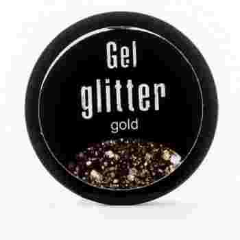 Гель-глиттер FRC  5 гр (50 SB gold)