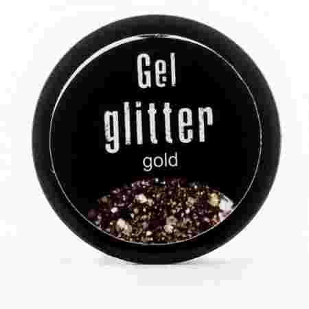Гель глиттер FRC 5 гр (50 SB gold)