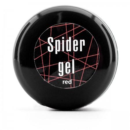 Гель Паутинка SPIDER GEL 5 мл (1033 DA красная)