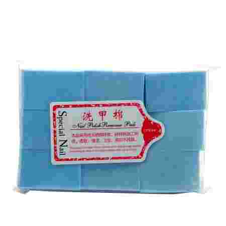 Салфетки безворсовые 6х4 см (Голубая)