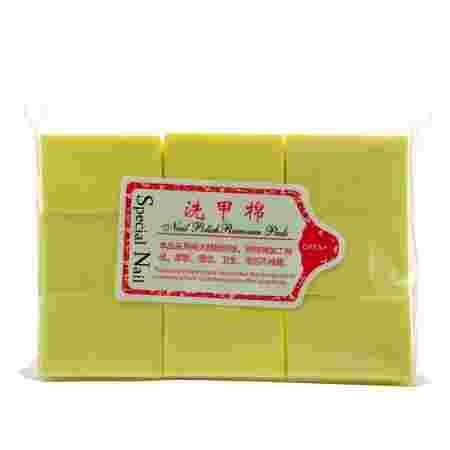 Салфетки безворсовые 6х4 см (Желтая)