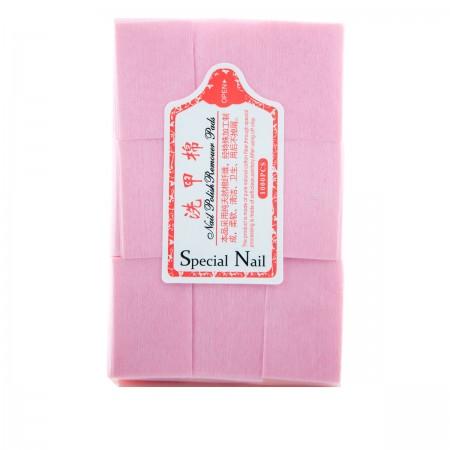 Салфетки безворсовые 6х4 см (Розовый)