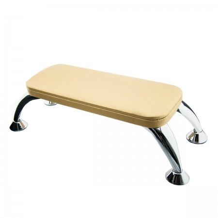 Подлокотник для маникюра на хромированных ножках FRC (Gold)