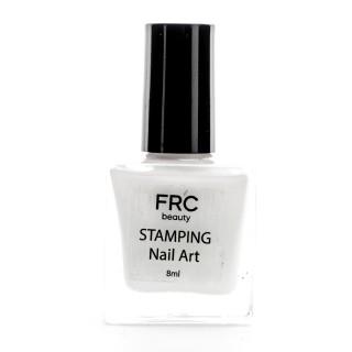 Лак-краска для стемпинга FRC 8 мл (002 Белая)