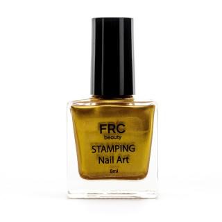 Лак-краска для стемпинга FRC 8 мл (004 Золото)