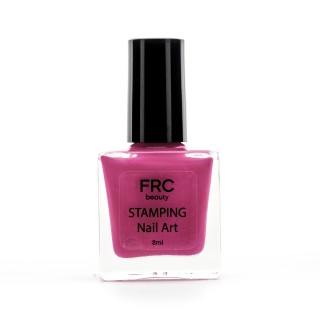 Лак-краска для стемпинга НЕОН FRC 8 мл (001 Розовая)
