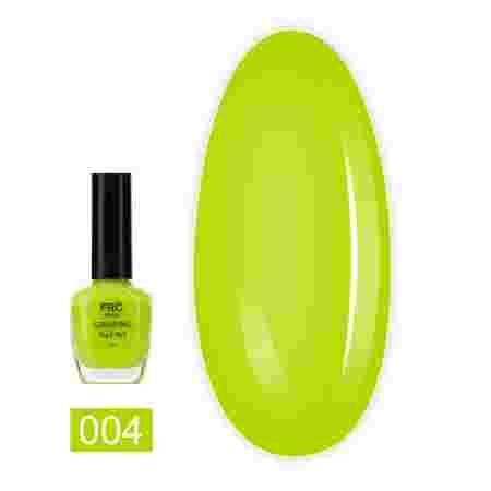 Лак-краска для стемпинга НЕОН FRC 8 мл (004 Лимонная)
