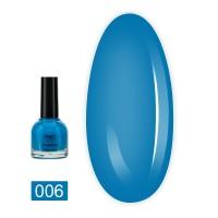 Лак-краска для стемпинга НЕОН FRC 8 мл (006 Голубая)