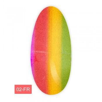 Фольга для литья FRC 1 м (02-FR Радуга красная)