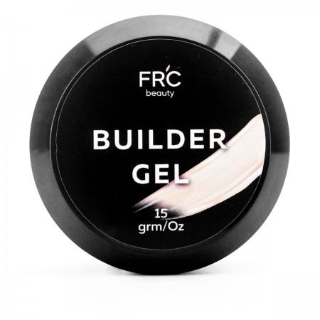 Гель builder самовыравнивающийся FRC 15 мл (001 Natural beige)
