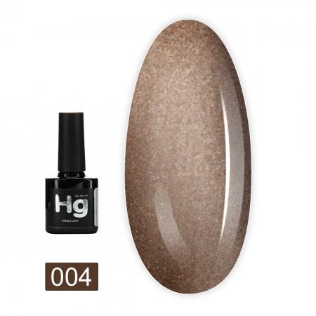 Гель-лак MERCURY Hg FRC Beauty 8 мл (004)