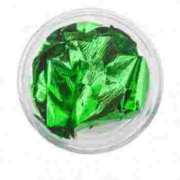 Фольга сусальное золото FRC Beauty (Зеленая)