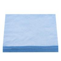 Салфетки нарезанные 20х20 сетка 50 шт (Голубой)