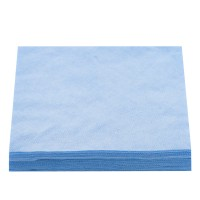Салфетки нарезанные 20х20 сетка100 шт (Блакитний)