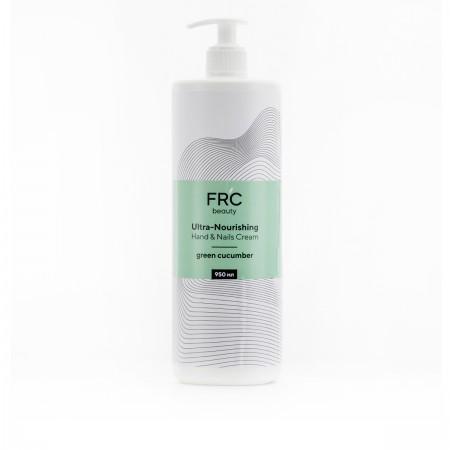Крем для рук и ногтей увлажняющий FRC 1000 мл (Green Cocumber)