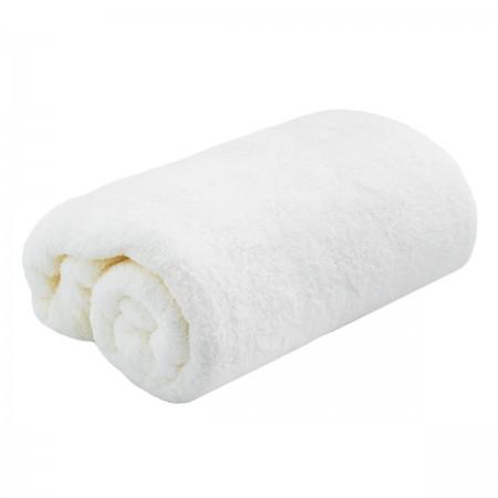 Плед махровый 110х180 см (Молочный)