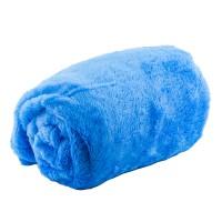 Плед махровый 110х180 см (Голубой)