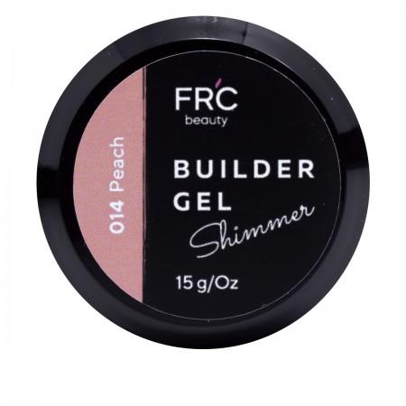 Гель для наращивания Builder GEL 1фазный с шиммером FRC 15 г (014 Beige)