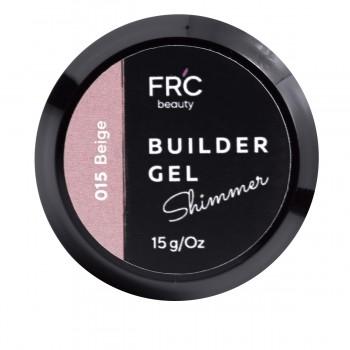 Гель для наращивания Builder GEL 1фазный с шиммером FRC 15 г (015 Siren)