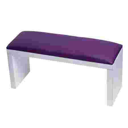 Подлокотник FRC для маникюра на белых ножках XL (Violet)