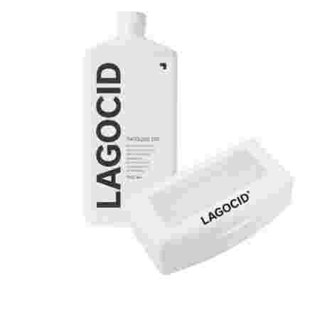 Средство для дезинфекции и стерилизации Лагоцид 300 фл 1000 мл + контейнер для стерилизации