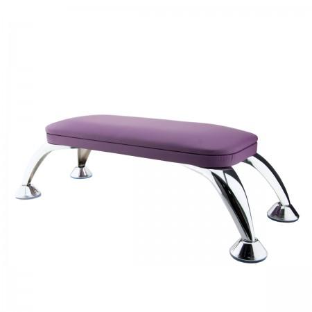 Подлокотник для маникюра на хромированных ножках FRC (Violet)