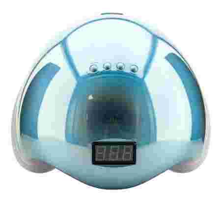 Лампа SUN 5 LED/UV гибрид с дисплеем 48 Вт (MIRROR BLUE)