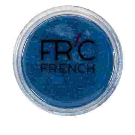 Пыль зеркальная French 1 г (расфасовка) (10 синяя)