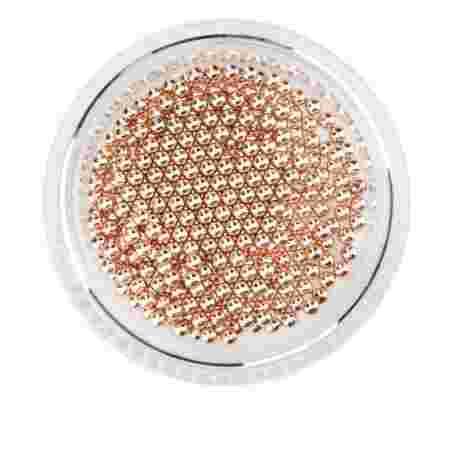 Бульонка French металлическая розовое золото (банка) (1,5 мм)