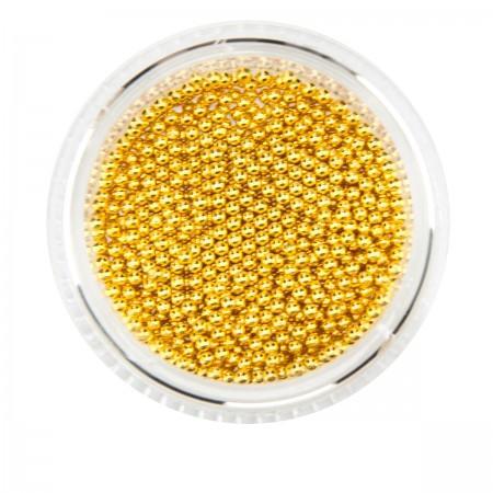 Бульонка French металлическая золото (банка) (1,2 мм)
