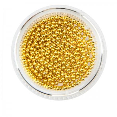 Бульонка French металлическая золото (банка) (1,5 мм)
