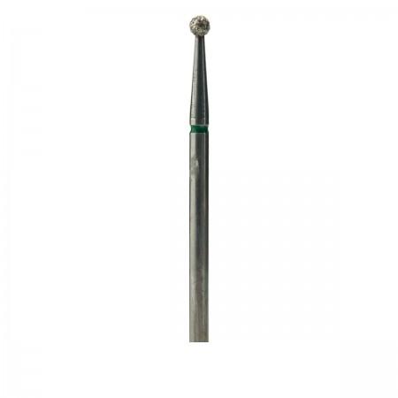 Фреза French Алмазная Круглая 001 (зеленая 534.023)