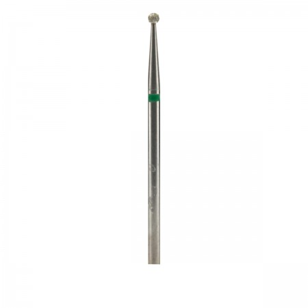Фреза French Алмазная Круглая 001 (зеленая 534.018)